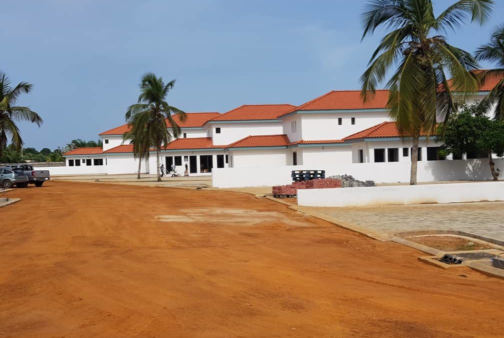 Construction de 8 villas duplex à Assinie PK 13