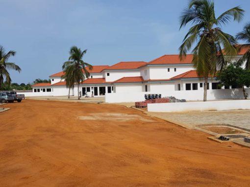 Construction de 8 villas duplex à Assinie PK 13