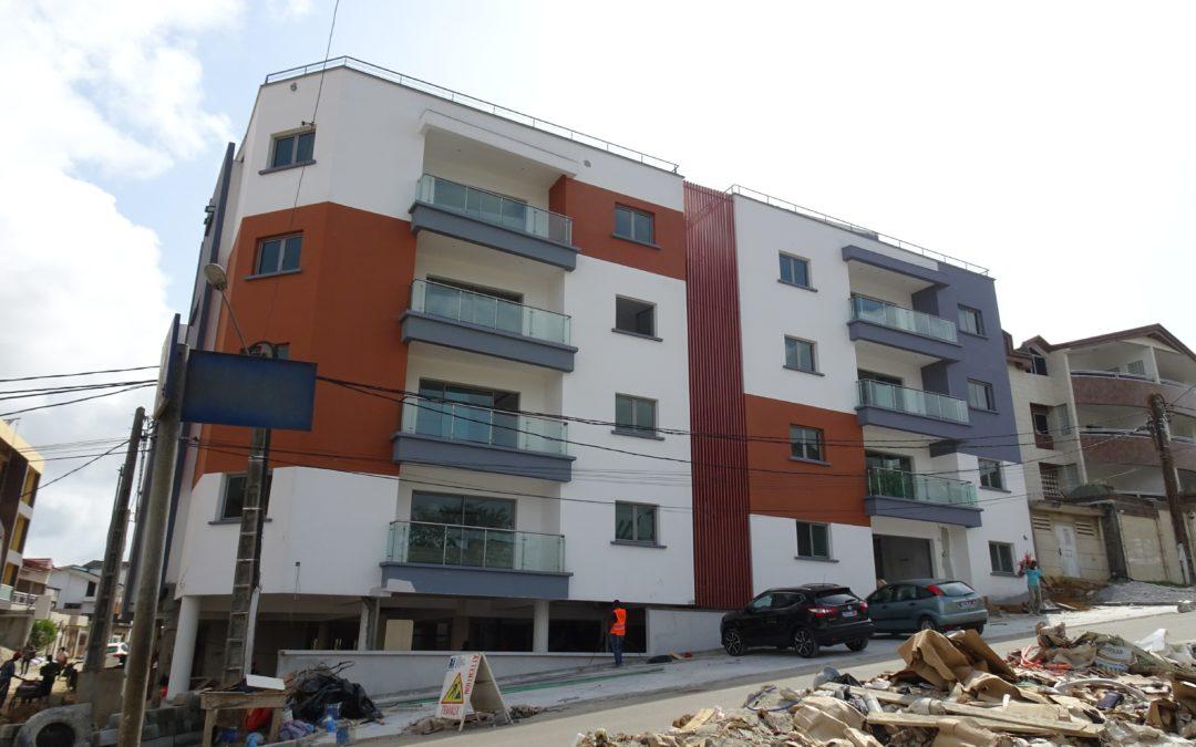 Construction Immeuble R+4 Penthouse